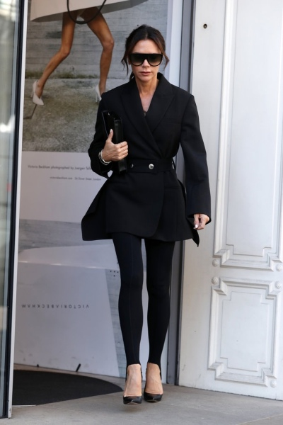 Celebrity Sightings at London Fashion Week - Day 4
